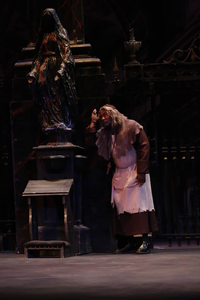 Sacristan in Tosca with Opera on the James